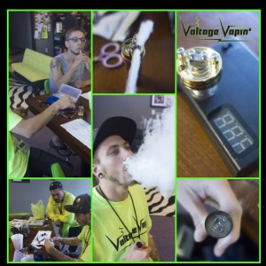 Free rebuild class this Sat Oct 11th at Voltage Vapin' !