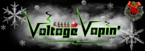 Merry Christmas from the Voltage Vapin' team!