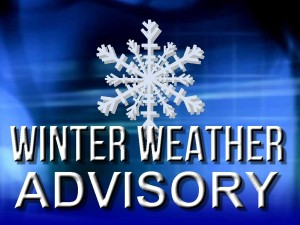 Winter Weather Advisory Closing@ Voltage Vapin'!!