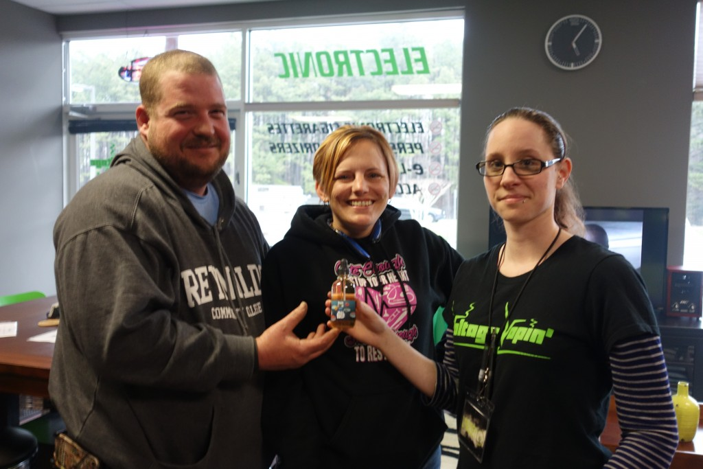Read more about the article The Mile High Drip Winner for this week @ Voltage Vapin'