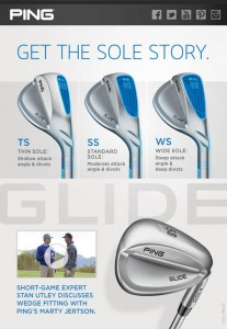 Great Stan Utley video regarding the new Ping Glide wedges