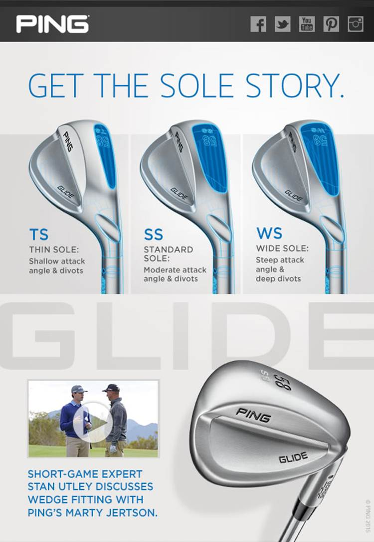 You are currently viewing Great Stan Utley video regarding the new Ping Glide wedges