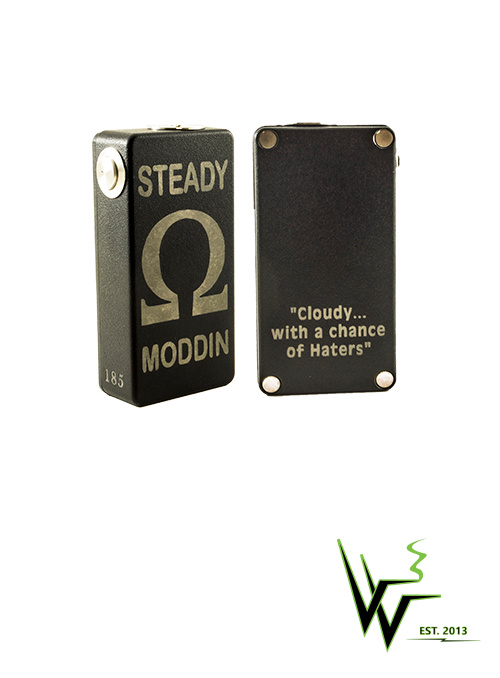 "Steady Moddin ""Hater Box mods"" now in stock at Voltage Vapin'!"