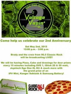 Come join us for our 2nd Anniversary Party and enjoy our Customer Appreciation Sales!!!