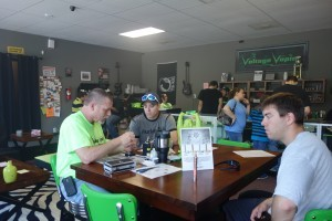 Thank you to Marty for hosting our rebuild class on Saturday @ Voltage Vapin'!!