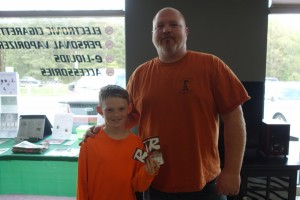 Winner of the 4 pack of tickets to the Flying Squirrells game giveaway from XL 102.1 hosted by @ Voltage Vapin'!!!