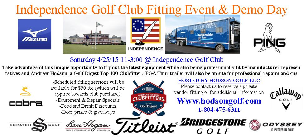 Independence Golf Club Fitting Event & Demo Day
