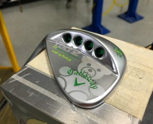 """Read more about the article Sweet custom """"Ted 2″ Callaway Mack Daddy 2 wedge for Mark Wahlberg"""