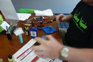 Thank you to Chris Moore for Hosting Our Rebuild Class @ Voltage Vapin'!