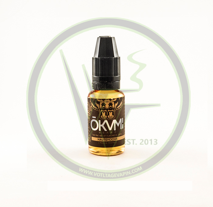 New Premium Juice flavor from Okami, Haute Mocha has arrived @ Voltage Vapin'!!