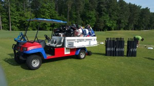 Hodson Golf's mobile fitting cart is ready to roll!!!