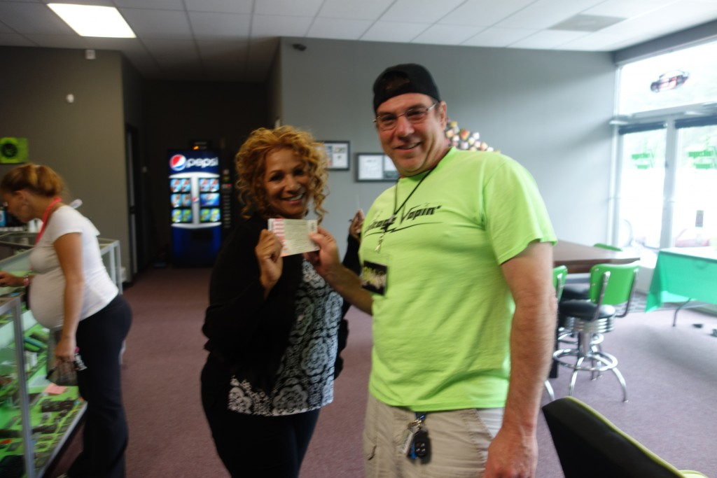 We have a winner for the George Clinton and Parliament tickets giveaway thanks to XL 102.1 and Voltage Vapin'!