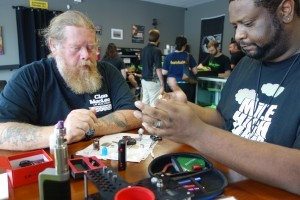 Read more about the article Thank you to Kevin for Hosting Our Rebuild Class @ Voltage Vapin'!