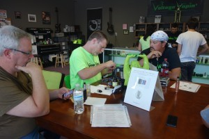 Join us this Saturday, July 25th for Voltage Vapin's Free rebuild class with Marty!