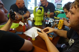 Thank you to Stuart for Hosting Our Rebuild Class @ Voltage Vapin'!
