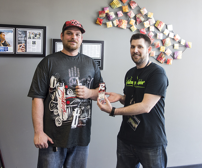 We have the first winner of the Richmond Flying Squirrels ticket giveaway at Voltage Vapin' !