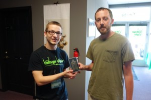 Congratulations to the winner of the Army Green E-LVT 2.0 contest @ Voltage Vapin'!