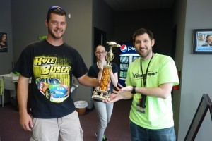 Voltage Vapin' would like to thank Alex and Ethan Ayers for the prize trophy!