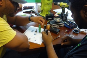 Thank you to Kevin for Hosting Our Rebuild Class @ Voltage Vapin'!