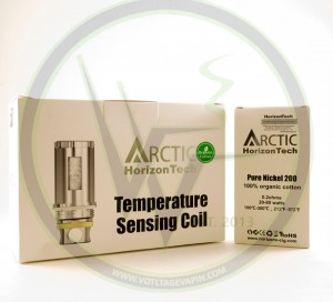 Now in stock at Voltage Vapin' are the Pure Nickel 200 Arctic Coils!