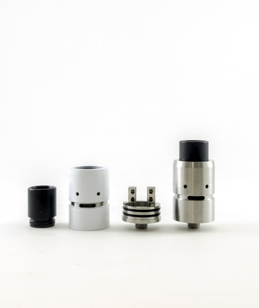 The Velocity Clone RDA is now in stock at Voltage Vapin'!