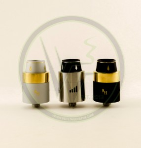 Back in stock and even better than before is the Authentic Royal Hunter RDA here at Voltage Vapin'!