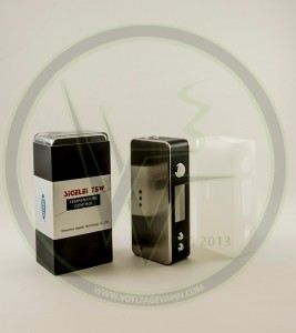 More new items in stock at Voltage Vapin'! The new 75w Sigelei Temperature Control Box Mod, and Arctic 0.5 Coils back in stock!