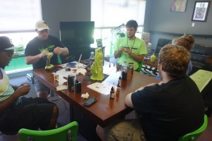Thanks to Chris for teaching our Rebuild Class at Voltage Vapin