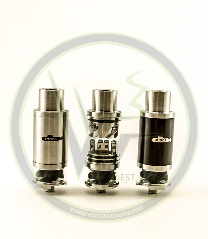 The Authentic Cloudcig 571 RDA is back in stock here at Voltage Vapin'!