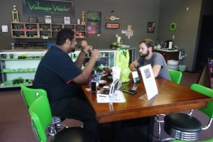 Thanks to our very own Kevin for teaching the Rebuild Class here @ Voltage Vapin'!