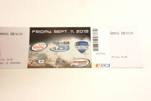 We are giving away a pair of tickets to see the Virginia 529/250 Xfinity Nascar Series and Pole Qualifying Tickets here at Voltage Vapin'!