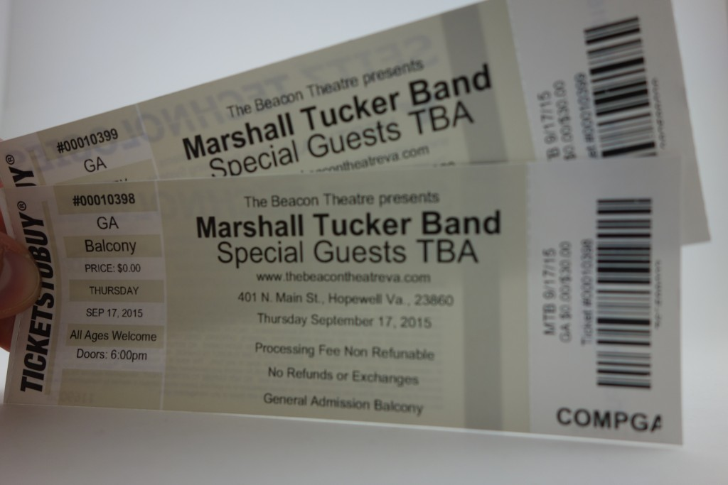 Voltage Vapin' is having another ticket giveaway to go see Marshall Tucker Band this Thursday thanks to iHeart Media!