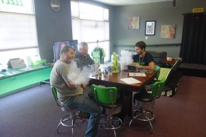 Thanks to our very own Scott for teaching the Rebuild class here @ Voltage Vapin'!