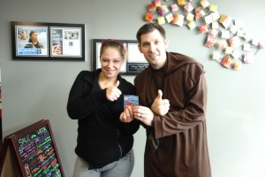 Congratulations to the winner of the tickets to the Christmas Craftsmen's Arts and Crafts Festival!