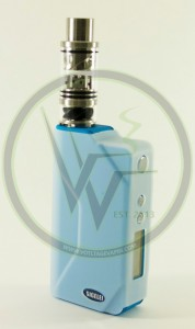 Blue Sigelei 150w Temperature Control Box Mods and Cloudcig 571 RDAs are now in stock at Voltage Vapin'!
