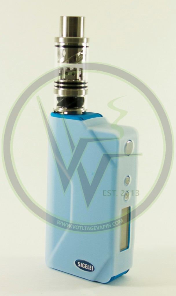 You are currently viewing Blue Sigelei 150w Temperature Control Box Mods and Cloudcig 571 RDAs are now in stock at Voltage Vapin'!