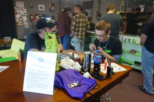 Thanks to Austin for teaching the Rebuild Class at Voltage Vapin'!