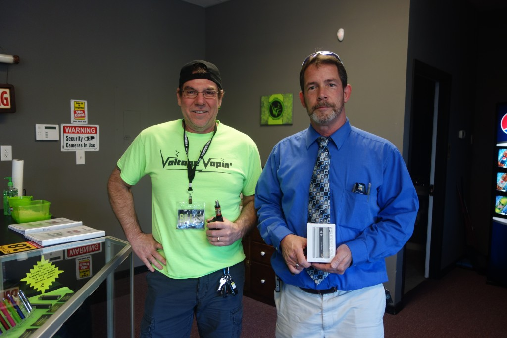 We have some more lucky winners today, here at Voltage Vapin'!