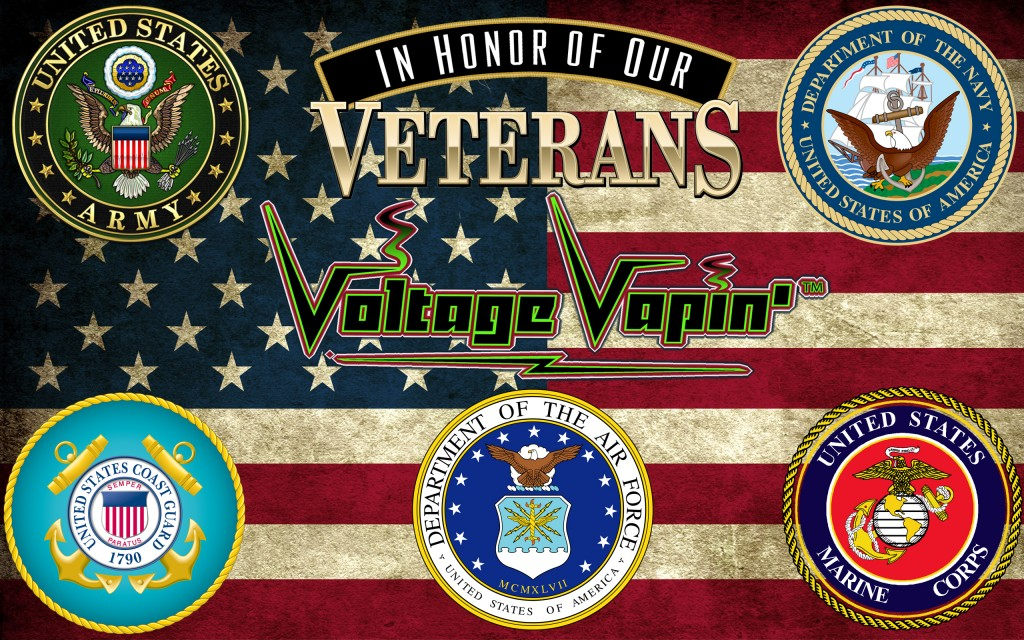 "A Big ""Thank You"" to all Veterans of the Armed Forces!"