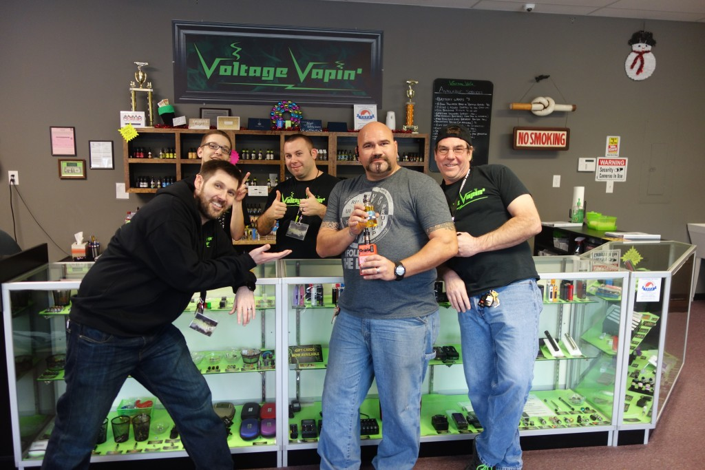 Congrats to another 120ml Mile High Winner here at Voltage Vapin'!
