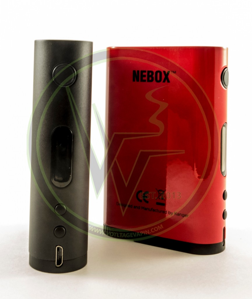 Now in stock at Voltage Vapin' is the KangerTech NEBOX 60W TC Starter Kit and back in stock is the Subtank Mini Glass!