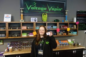 We have another new VSFA member fighting for vaper's rights!