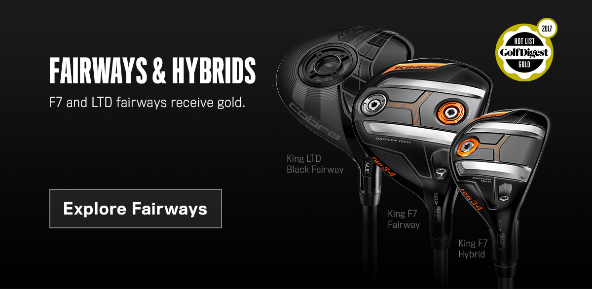 You are currently viewing Cobra 2017 Fairway & Hybrid Line win Gold