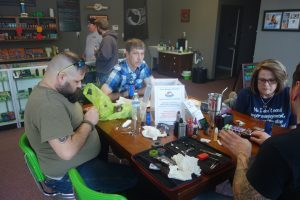 Thanks to our very own Chris for teaching the Rebuild Class here at Voltage Vapin'!