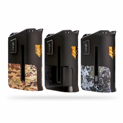 You are currently viewing The Limitless Arms Race is back in stock with two new colors at Voltage Vapin'!