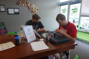 Thanks to our very own Thor for teaching the Rebuild Class here at Voltage Vapin'!