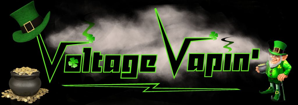 Have a Happy St. Patrick's Day with 20% off two festive liquids from Voltage Vapin'!