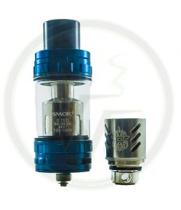 Blue TFV8s are back in stock at Voltage Vapin'!
