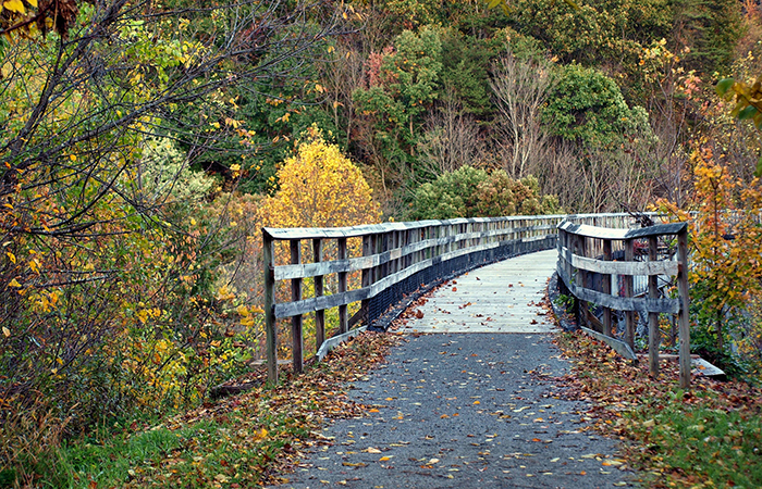 New River Trail State Park. Courtesy of Virginia Department of Conservation & Recreation.