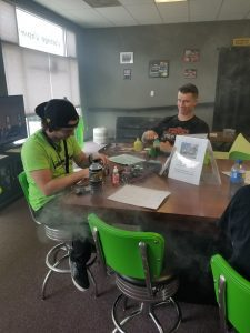 Read more about the article Thanks to our very own Skyler for teaching the Rebuild Class here at Voltage Vapin'!